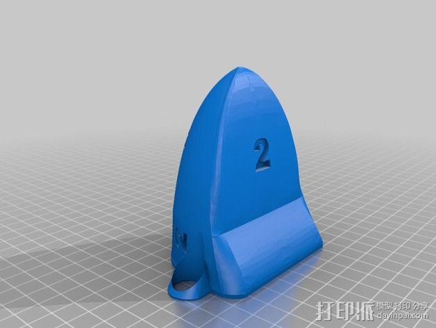 雷鸟 飞行器 3D模型  图4
