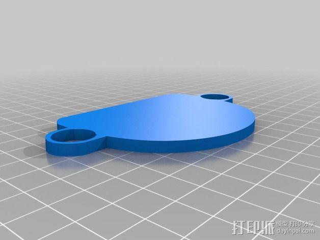 雷鸟 飞行器 3D模型  图5