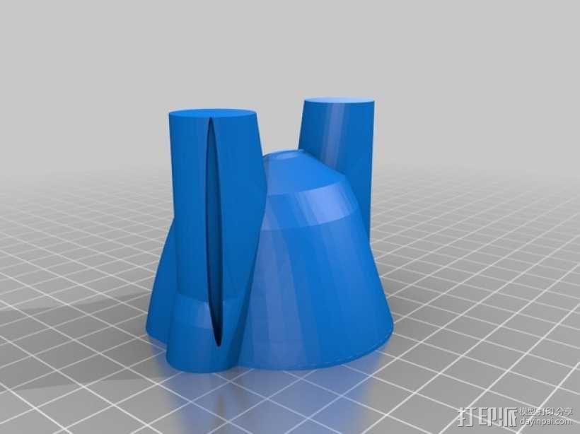 雷鸟 飞行器 3D模型  图7