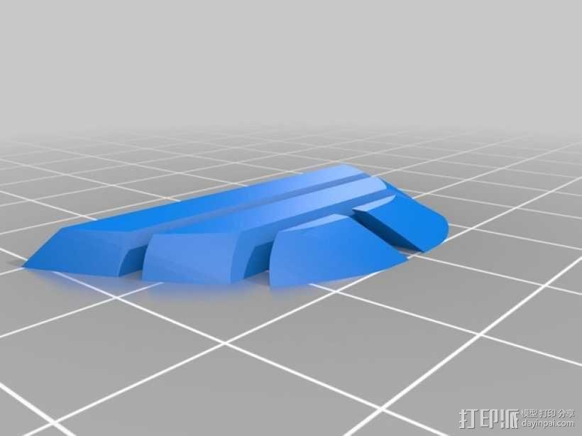 雷鸟 飞行器 3D模型  图11