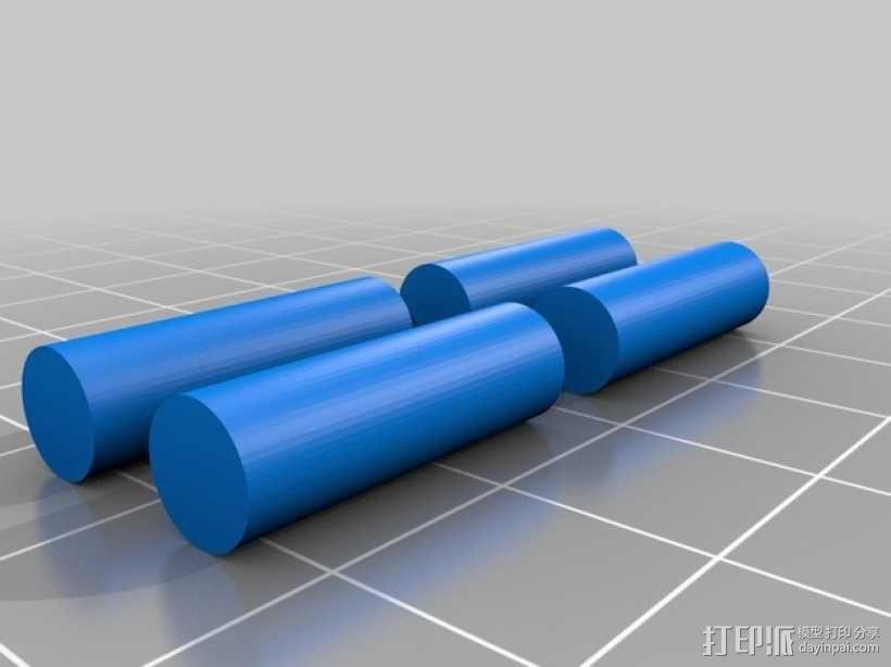 雷鸟 飞行器 3D模型  图13