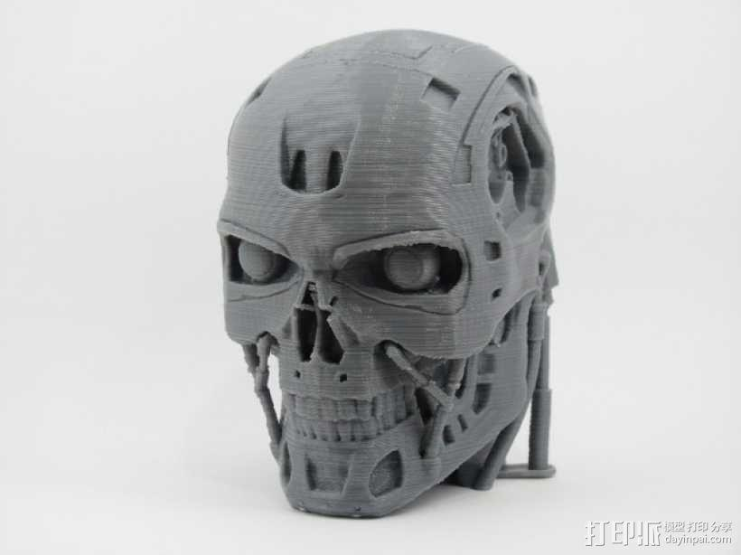 T-800机器人 头部 3D模型  图1