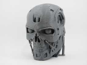 T-800机器人 头部 3D模型