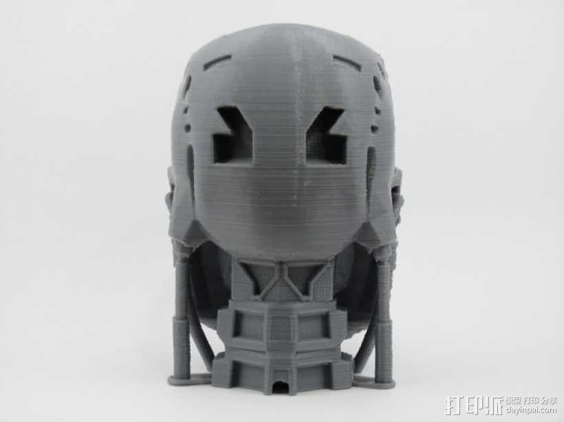 T-800机器人 头部 3D模型  图5