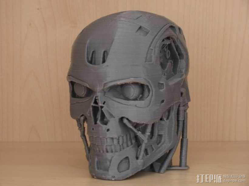 T-800机器人 头部 3D模型  图6