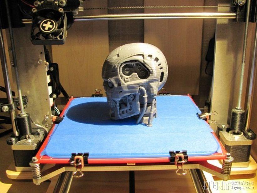 T-800机器人 头部 3D模型  图7