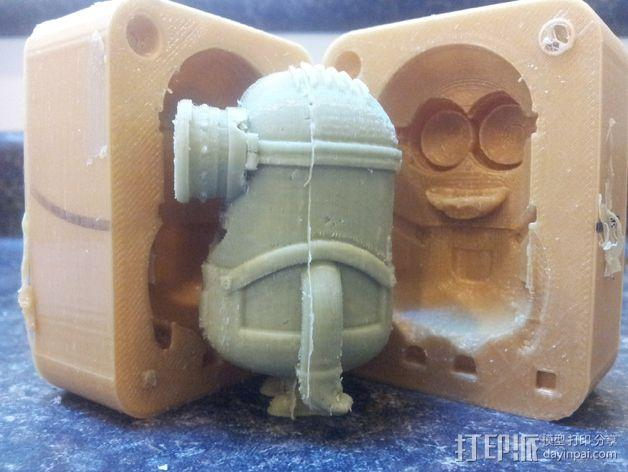 小黄人 模具 3D模型  图3