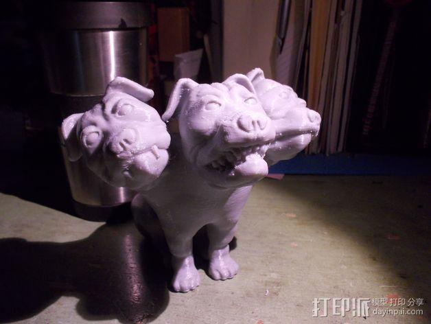 Fluffy 三头犬 3D模型  图6