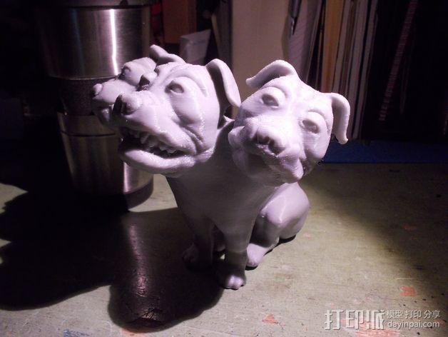 Fluffy 三头犬 3D模型  图7