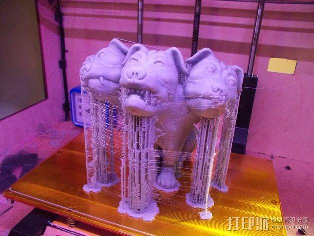 Fluffy 三头犬 3D模型  图11
