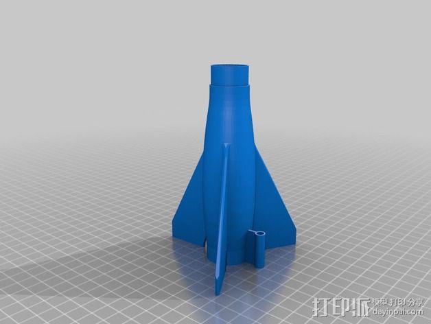 火箭 3D模型  图4