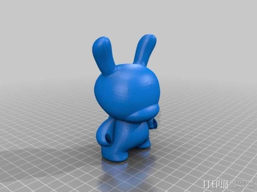 Dunny  玩偶  3D模型  图1