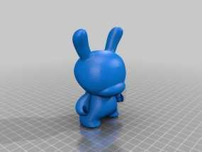 Dunny  玩偶  3D模型