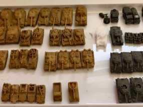 1:200坦克 3D模型