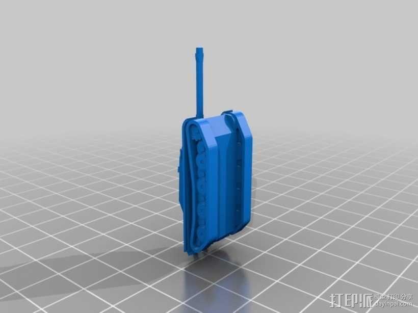 1:200坦克 3D模型  图2
