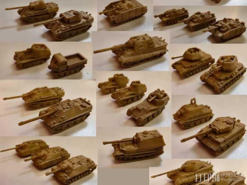 1:200坦克 3D模型  图4