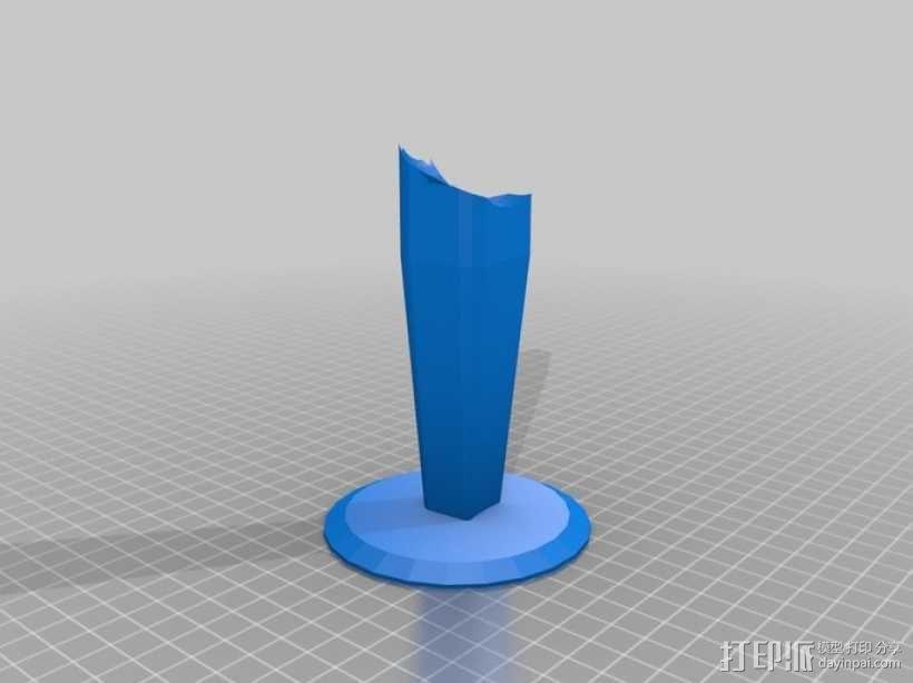 《星球大战》钛截击机 3D模型  图2