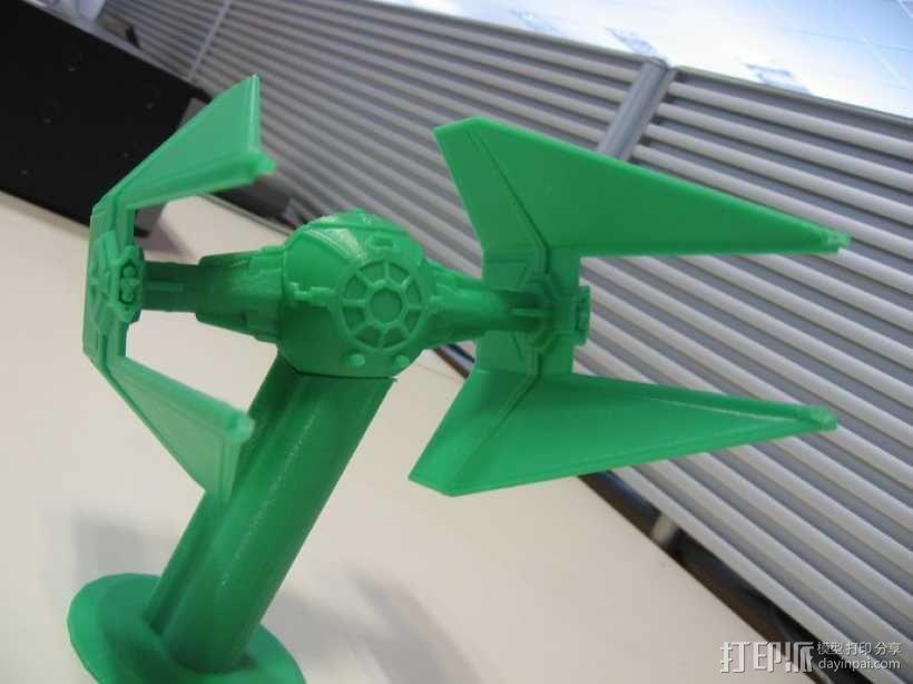 《星球大战》钛截击机 3D模型  图1