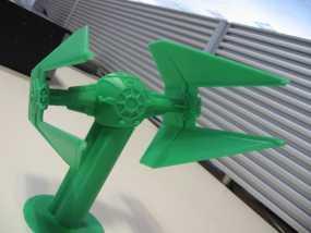 《星球大战》钛截击机 3D模型