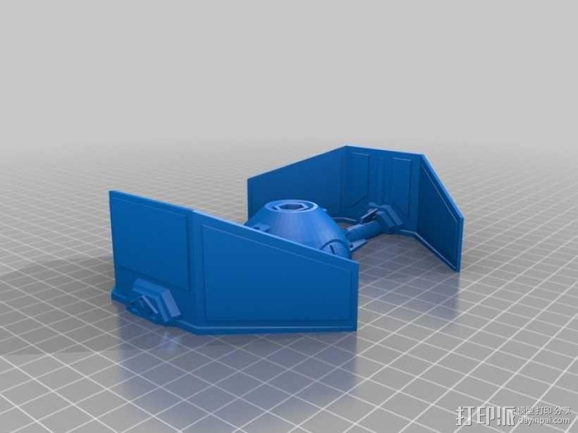 《星球大战》钛截击机 3D模型  图3