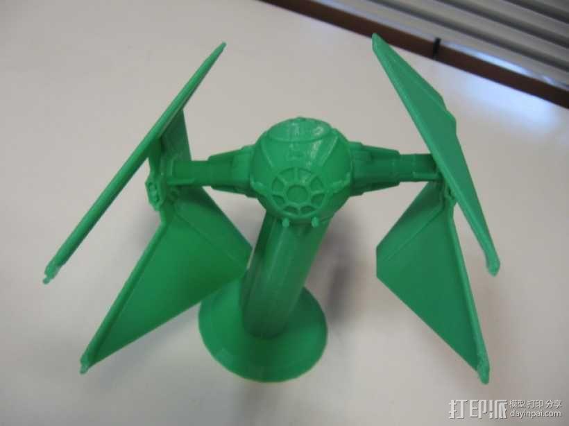 《星球大战》钛截击机 3D模型  图6