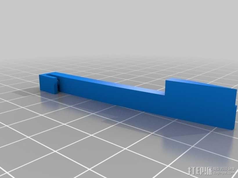 《刺客信条》袖剑  3D模型  图1