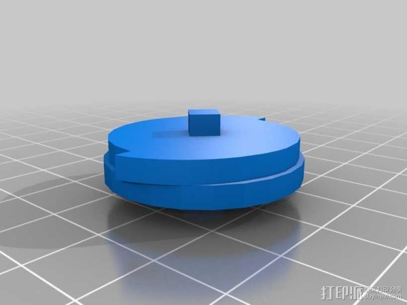 《刺客信条》袖剑  3D模型  图4