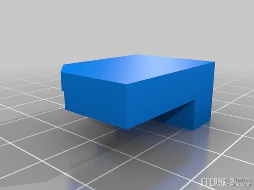《刺客信条》袖剑  3D模型  图3