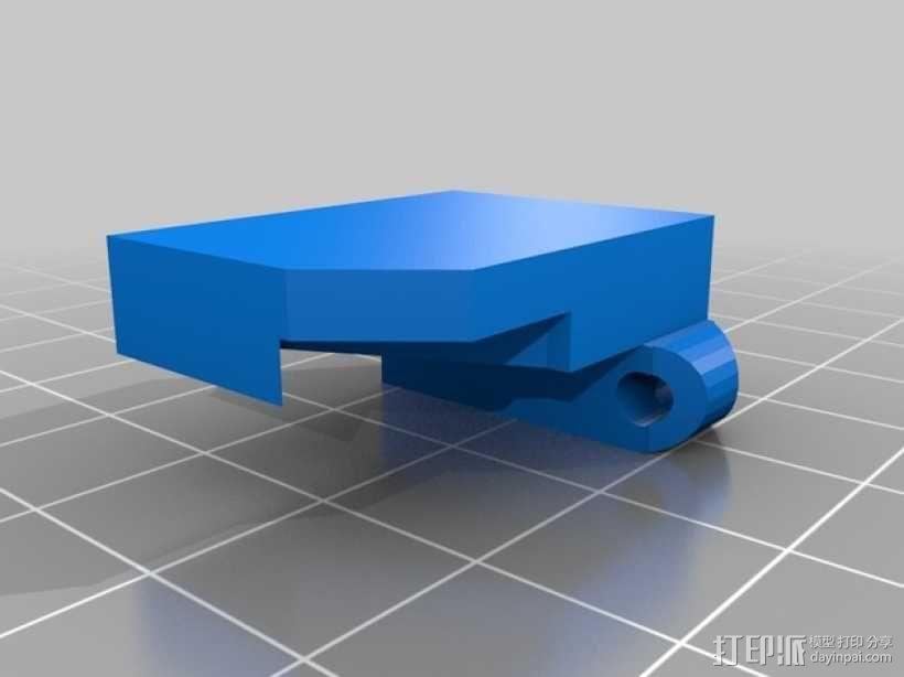 《刺客信条》袖剑  3D模型  图9