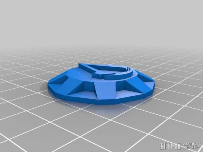 《刺客信条》袖剑  3D模型  图7