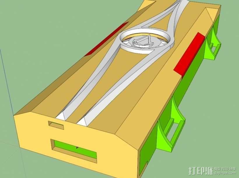《刺客信条》袖剑  3D模型  图18