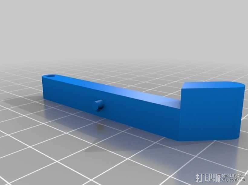 《刺客信条》袖剑  3D模型  图26