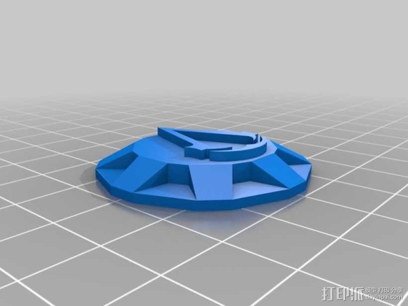 《刺客信条》袖剑  3D模型  图27