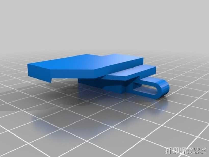 《刺客信条》袖剑  3D模型  图29