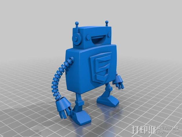Html5机器人 3D模型  图2