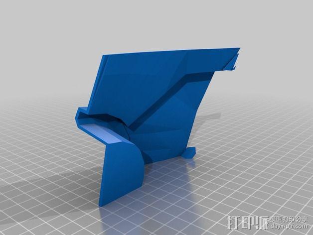 钢铁侠42前襟 3D模型  图1