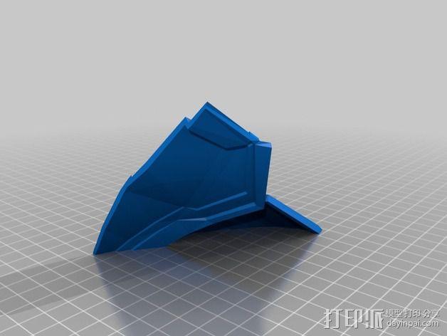 钢铁侠42前襟 3D模型  图2