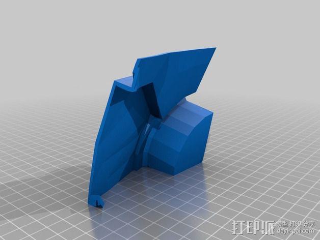 钢铁侠42前襟 3D模型  图3