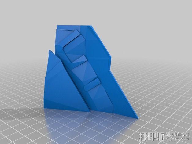 钢铁侠42前襟 3D模型  图4