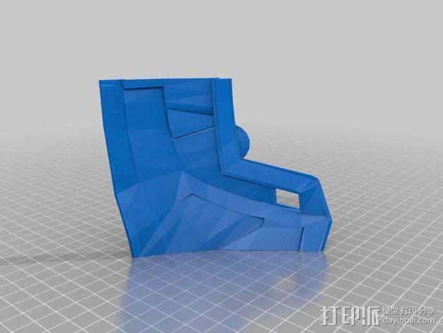 钢铁侠42前襟 3D模型  图9