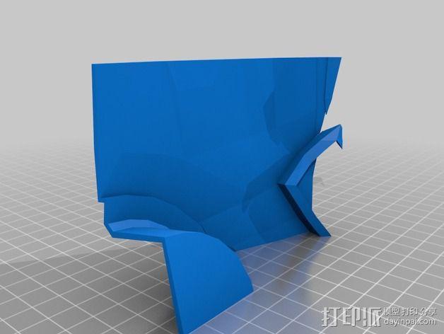 钢铁侠42前襟 3D模型  图8