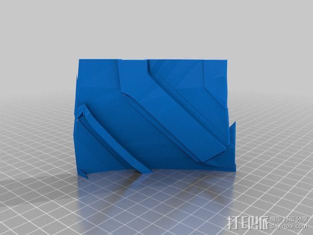 钢铁侠42前襟 3D模型  图12