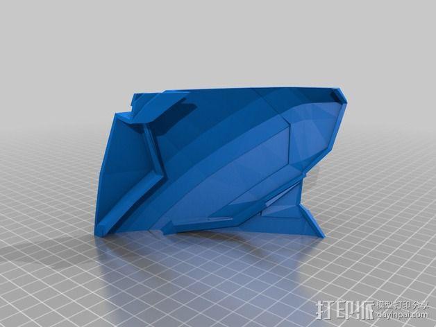 钢铁侠42前襟 3D模型  图14