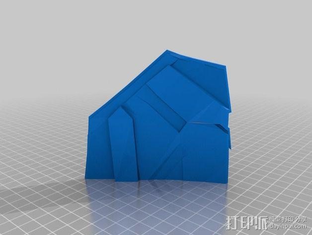 钢铁侠42前襟 3D模型  图20