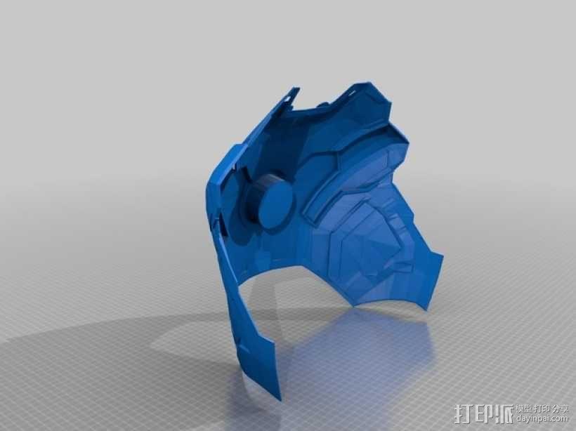 钢铁侠42前襟 3D模型  图21