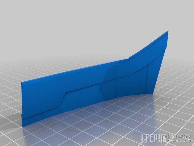 钢铁侠42前襟 3D模型  图19