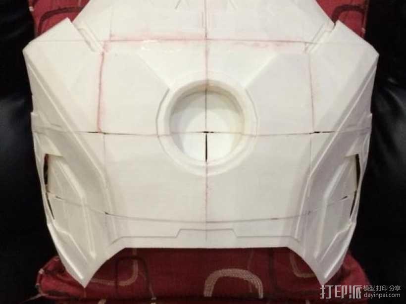 钢铁侠42前襟 3D模型  图22