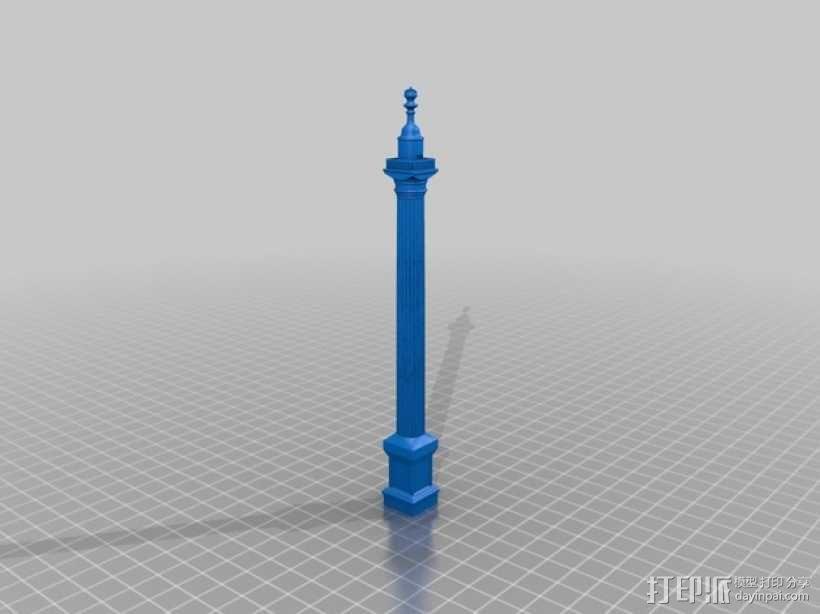 纪念碑 3D模型  图1