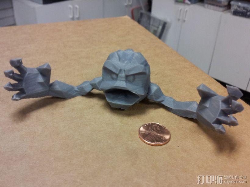 小拳石 3D模型  图1