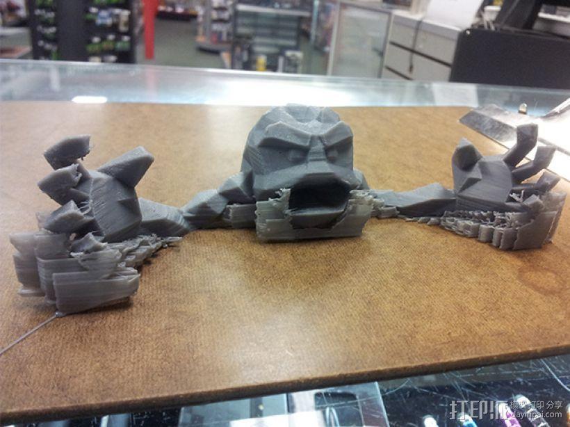 小拳石 3D模型  图4